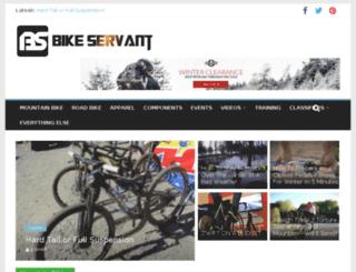 bikeservant.com screenshot