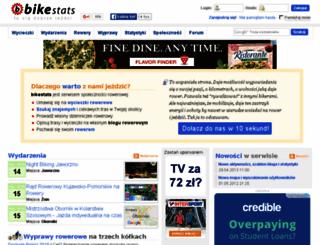 bikestats.pl screenshot