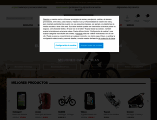 bikester.es screenshot