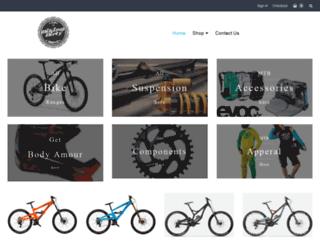 bikingdirty.com screenshot