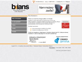 bilans.bydgoszcz.pl screenshot