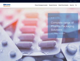 bilcare.com screenshot
