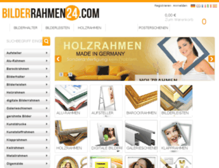bilderrahmen24.com screenshot
