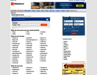 bileteagentii.infoturism.ro screenshot