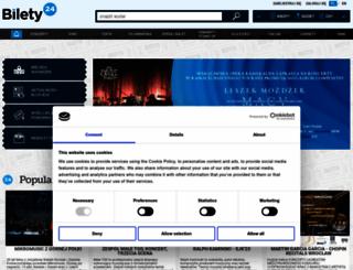 bilety24.pl screenshot