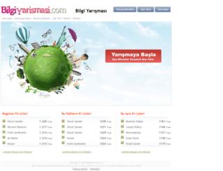 bilgiyarismasi.com screenshot