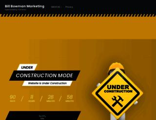 billbowmanmarketing.com screenshot
