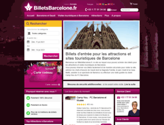 billetsbarcelone.fr screenshot