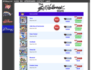 billholbrookstore.com screenshot