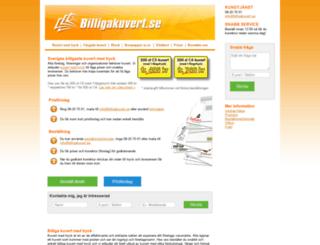 billigakuvert.se screenshot