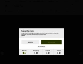billigcamping.dk screenshot