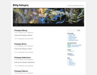 billigfiskegrej.wordpress.com screenshot