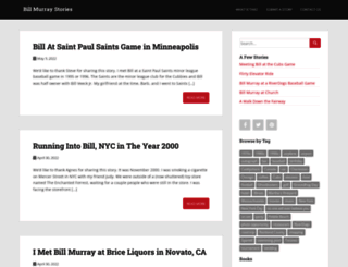 billmurraystory.com screenshot
