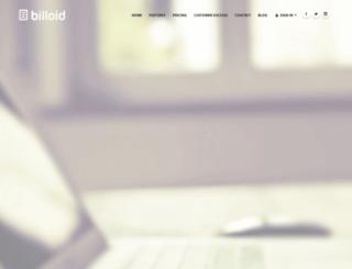 billoid.com screenshot