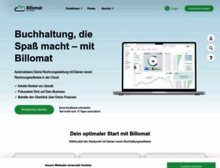 billomat.com screenshot