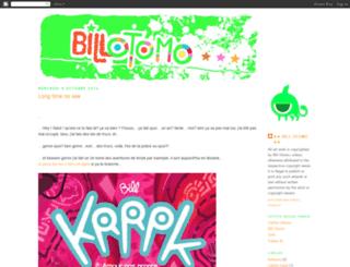 billotomo.blogspot.com screenshot