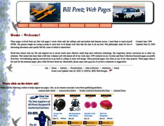 billpentz.com screenshot