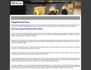 billproxy.com screenshot