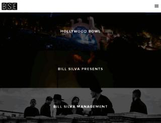 billsilvaentertainment.com screenshot