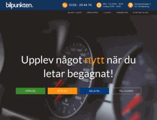 bilpunkten.net screenshot