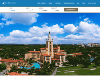 biltmorehotel.com screenshot
