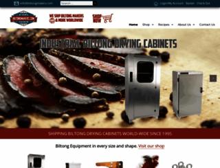 biltongmakers.com screenshot