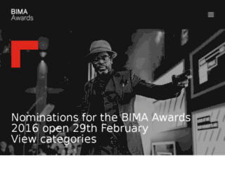 bimaawards.prollective.com screenshot