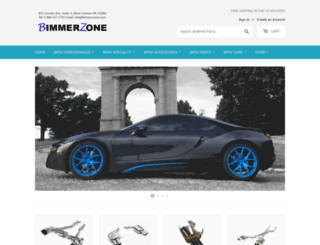 bimmerzone.com screenshot