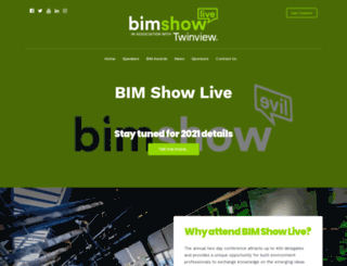 bimshowlive.co.uk screenshot