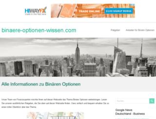 binaere-optionen-wissen.com screenshot
