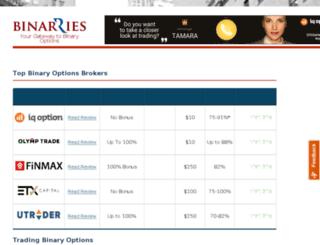 binarries.com screenshot