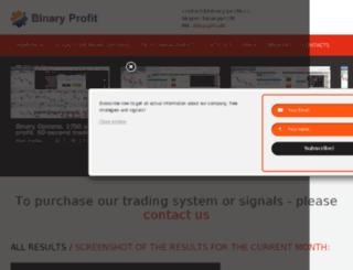 binary-profit.ru screenshot