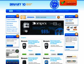 binary10.es screenshot