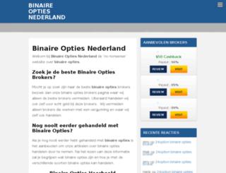 binaryoptionsnederland.nl screenshot