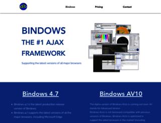 bindows.net screenshot