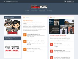 binkdotz.com screenshot
