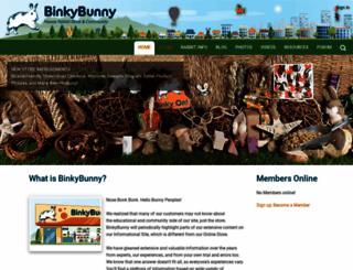 binkybunny.com screenshot
