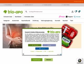 bio-apo.de screenshot