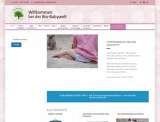 bio-babywelt.de screenshot