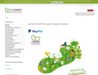 bio-conzept.de screenshot