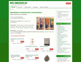 bio-obchod.sk screenshot