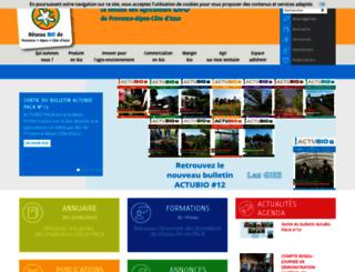 bio-provence.org screenshot