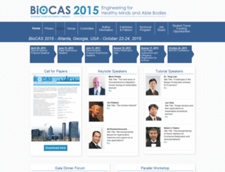 biocas2015.org screenshot