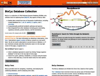 biocyc.org screenshot