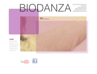 biodanza.com screenshot