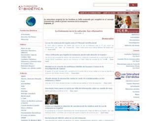 bioeticacs.org screenshot