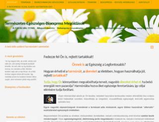 bioexpress.hu screenshot