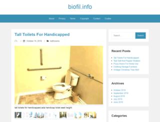 biofil.info screenshot