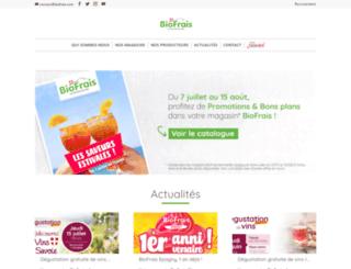biofrais.com screenshot