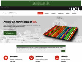 bioinf.org.uk screenshot